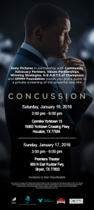 Concussion movie image